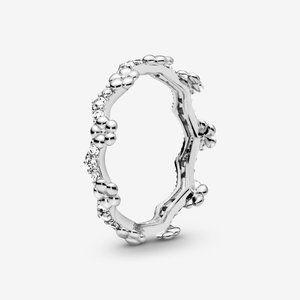 🔥PANDORA Flower Crown Ring